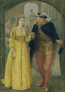 25 stycznia 1533 r. – Ślub Henryka VIII z Anną Boleyn