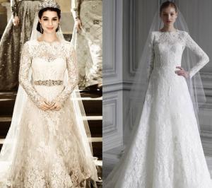 Suknia ślubna Marii Stuart